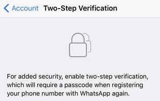 PSA: Two-step verification is now available on WhatsApp