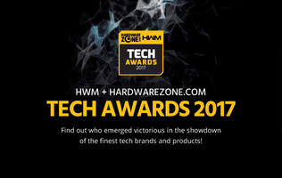 77 awards presented at the 8th annual HWM+HardwareZone.com Tech Awards