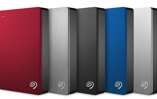 Never run out of space with the Seagate Backup Plus Portable 5TB hard drive!