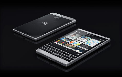 BlackBerry officially holds 0 per cent of the global smartphone market now