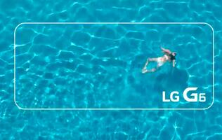 LG's teaser video confirms that the G6 phone is water resistant