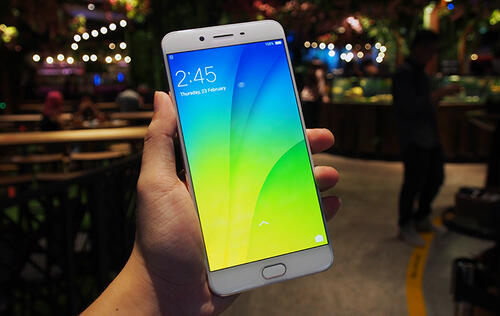 Oppo R9s Plus available now in Gold at S$779