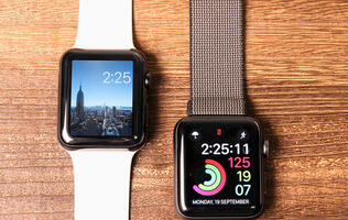 The Apple Watch Series 3 may use a different display technology