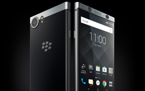 The BlackBerry KEYOne Black Edition will be available in Singapore soon