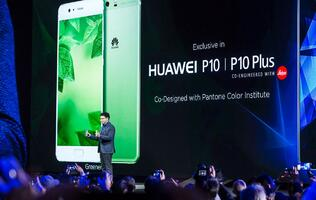 Huawei announces P10 and P10 Plus at MWC 2017