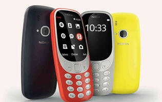 The 17-year-old Nokia 3310 is officially back!