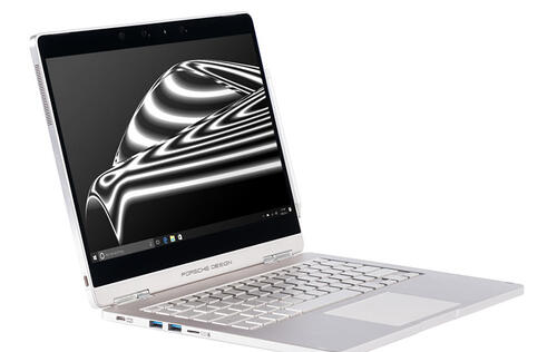 Porsche Design just put its name on a swanky new 2-in-1 laptop called the Book One