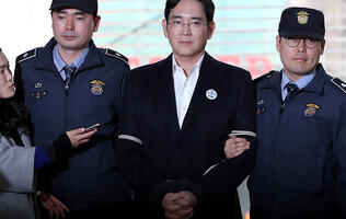 Samsung's leader to be indicted on corruption charges including bribery and embezzlement