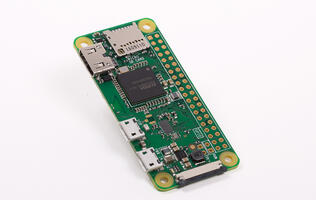 The Raspberry Pi Zero W is a US$10 computer with wireless LAN and Bluetooth