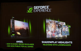NVIDIA's GeForce Experience gets Shadowplay Highlights, Ansel SDK now available