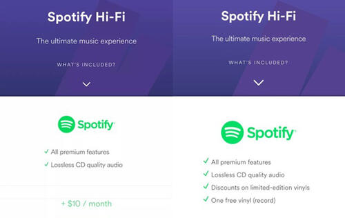 Spotify likely to offer lossless audio streaming soon - HardwareZone