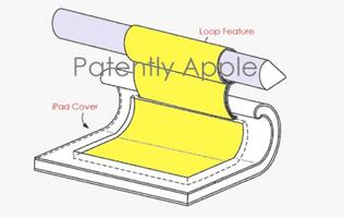Apple's patent application reveals Apple Pencil holder for iPad accessories
