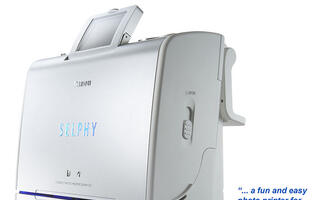 First Looks: Canon SELPHY ES-1 Photo Printer