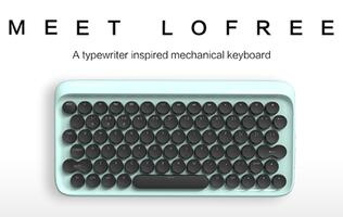 Lofree is a US$74 typewriter-inspired wireless mechanical keyboard for Macs