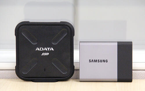 Portable external SSD face-off: ADATA SD700 vs. Samsung T3