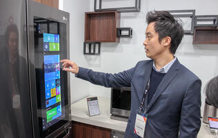 LG's new Smart Refrigerator runs Windows 10 — here's why