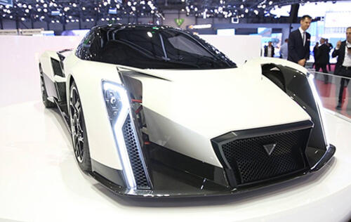 Singapore's first supercar unveiled at Geneva Motor Show
