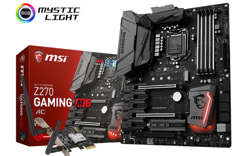 MSI debuts the stealthy-looking Z270 Gaming M6 AC motherboard