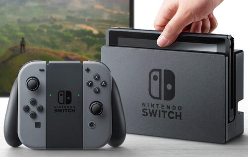 Nintendo Switch sold more than 1.5 million units globally in first week