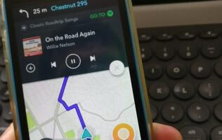 What happens when Spotify and Waze team up? You get music and navigation integration heaven.