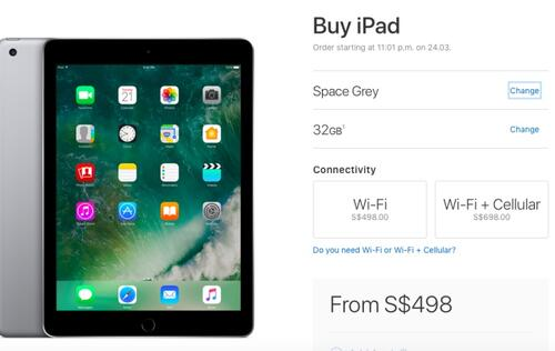 Apple unveils 9.7-inch iPad and updated iPad Mini 4 option