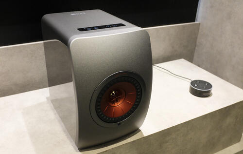 Beauty in Simplicity: First looks at the KEF LS50 Wireless speakers