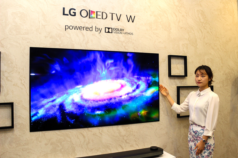 In pictures: The LG Signature OLED W7 is so thin you have to see it to believe it