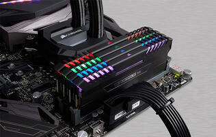 Gigabyte's RGB Fusion app will let you control Corsair's new Vengeance RGB memory modules