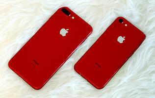 In photos: The very red iPhone 7 (PRODUCT)RED Special Edition
