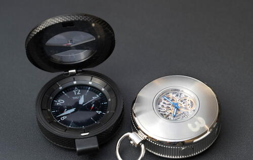 Samsung teases conceptual Gear S3 smart pocket watch with Swiss-made movement