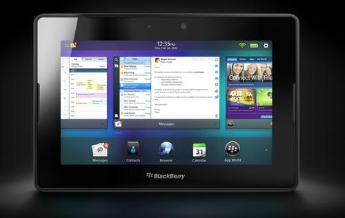 BlackBerry may release an Android tablet