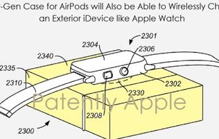 Next-gen AirPods case could wirelessly charge the Apple Watch and iPhone