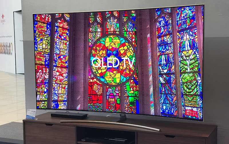 Samsung's gorgeous QLED 4K TVs are now in stores