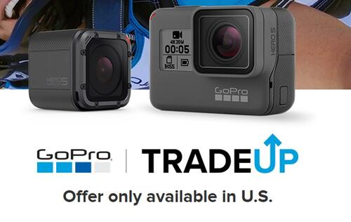 GoPro launches trade-up program in the U.S