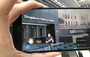 Step back in time with the National Museum of Singapore's new Tango-enabled tour