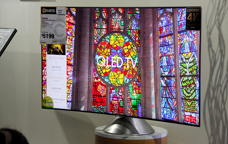 HardwareZone readers check out Samsung's newest QLED TVs