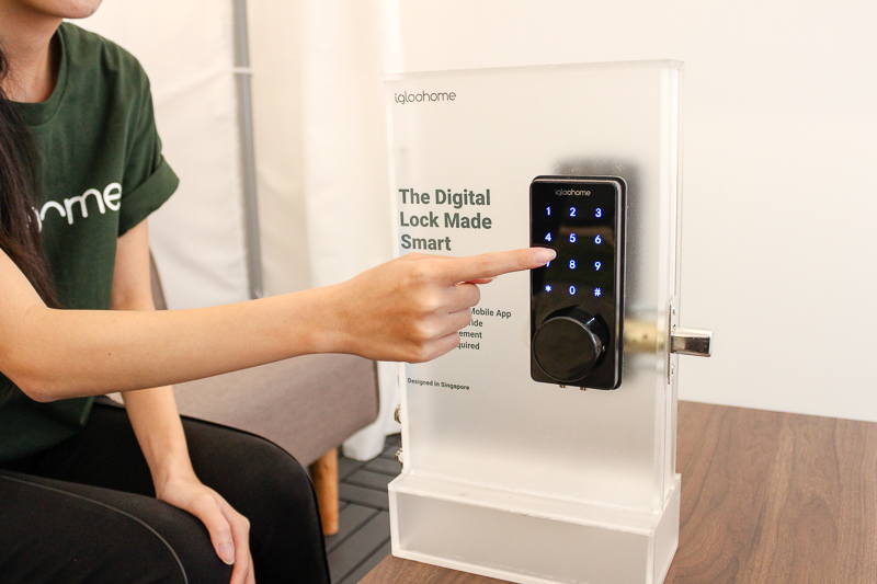 Meet the Singapore-designed smart lock that doesn't need Wi-Fi to work