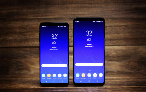 UI, Bixby Assistant & Biometric Security : Samsung Galaxy S8
