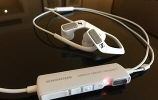 Sneak Preview: Sennheiser Ambeo Smart Surround 3D recording headset