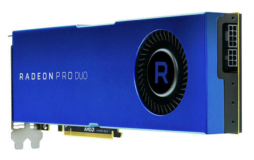 AMD's new Polaris-based Radeon Pro Duo will compete against the NVIDIA GeForce GTX Titan Xp