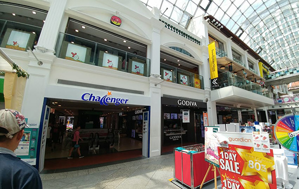 In pictures: Challenger's new flagship store at Bugis Junction