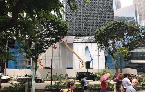 Apple Store in Singapore likely to open in May