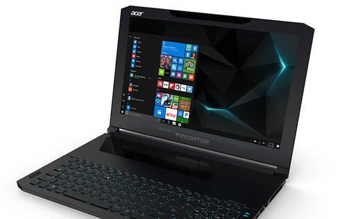 The Acer Predator Triton 700 is a super thin gaming laptop with an unusual trackpad