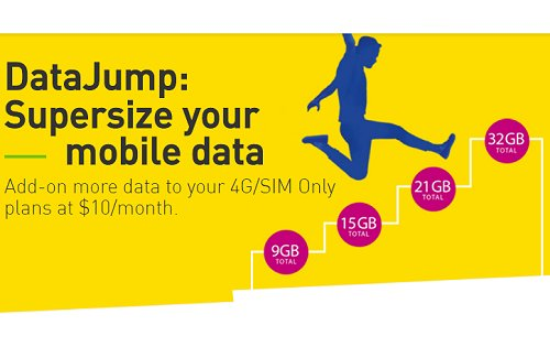 DataJump is StarHub's new mobile upsize option for up to 32GB of data!