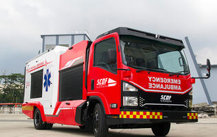 Don't be surprised when you see this hybrid ambulance/fire engine on the streets