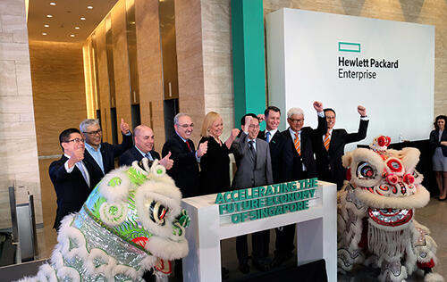 Hewlett Packard Enterprise opens new regional HQ in Singapore, also announces program to accelerate local startups