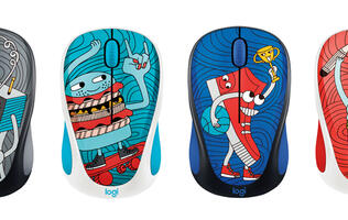 Logitech adds new doodle-y designs to the M238 wireless mouse