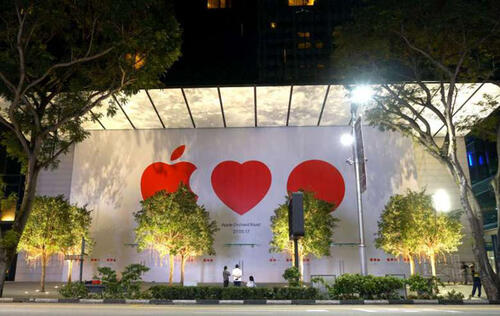 Singapore's first Apple Store will open on May 27