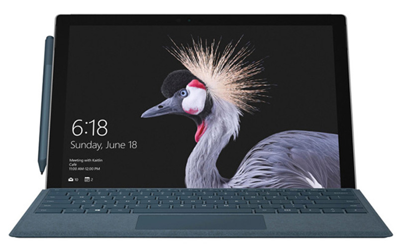 This is the new Microsoft Surface Pro