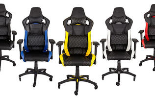 Corsair is getting into the gaming chair market with the T1 Race